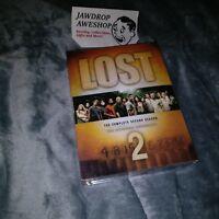 LOST SEASON 2 / SERIES 2 -NTSC USA CAN DVD 7-DISC SET BONUS FEATURES R1 REGION 1
