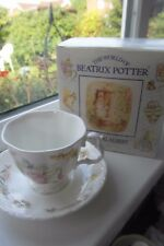Royal Albert Jemima Puddleduck Tea Cup & Saucer Boxed 1st Quality White