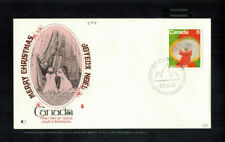 Fdc-1569*Canada 1975*Merry Christmas Fdc*Cachet*Scott # 674