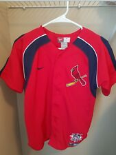 St. Louis Cardinals NIKE Baseball Jersey - Size YOUTH MEDIUM - Go Cards
