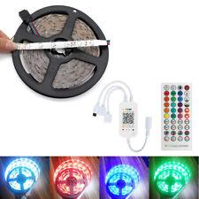 5M LED Strip Lights 3528 RGB Colour Changing + Bluetooth Music  Remote Control