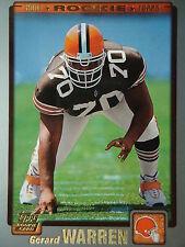 NFL 333 Gerard Warren Cleveland Browns Topps 2001 Rookie