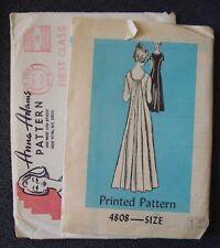 "Vintage ANNE ADAMS #4808 Gathered Back Dress Pattern Size 14, UNCUT - 36"" Bust"