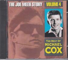 THE JOE MEEK STORY VOL. 4 * 'THE BEST OF MICHAEL COX' * RARE SEQUEL CD * NEW