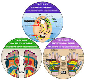 Reflexology Therapy Ear Foot Hand Complete Step By Step Video Guide