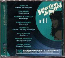 RHYTHM & SOUL - N°11 - MOTOWN - CD COMPILATION NEUF SOUS CELLO