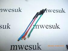 Headshell  OFC Gold Cartridge Lead Wire Cable Set Suit Technics SL1200 SL1210