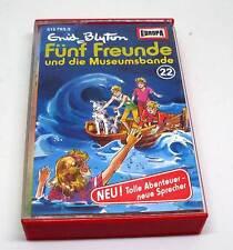 Fünf Freunde ( 5 ) Hörspielkassette - Europa - Folge 22 und die Museumsbande