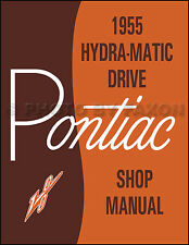 1955 Pontiac Hydra-Matic Transmission Repair Shop Manual Automatic Tranny AT