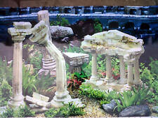 "Vivarium / Aquarium Ruins Background 24"" Tall x 3ft Wide FREE POSTAGE"