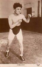 Carte postale DIX de Édouard Mascart boxeur c1923