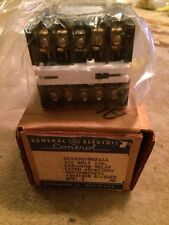 New GE GENERAL ELECTRIC CONTROL CR120C08422AA Latching Relay 4 Contacts Latch