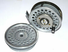 Hardy Marquis 8/9 Multiplier greared fly reel & spare spool in fine condition