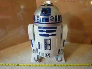 "Rare! 2015 Jakks Pacific 18"" large Star Wars R2-D2 toy figure, display model."
