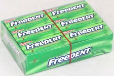 Wrigley's Freedent Peppermint Bubble Gum Candy (15 Stick Packs) Case of 12 Packs