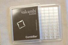 Valcambi 100 - 1 Gram (100x1) Combibar Sheet 9999 Pure Fine Silver Bar Bullion