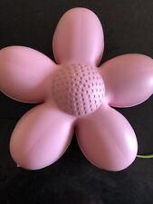 Ikea SMILA BLOMMA Pink Flower Wall Light.