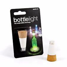 Suck UK - Cool Wine Bottle Lamp Light - USB Rechargeable Gadget - Cork Stopper