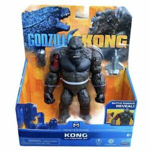 MonsterVerse Godzilla Vs. Kong 6-Inch Figure - Kong with Fighter Jet BRAND NEW