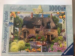 Bakers Cottage Ravensburger Puzzle 1000