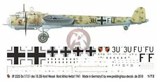 Peddinghaus 1/72 Dornier Do 17 Z-1 Markings 10./ZG 26 Libya Autumn 1941 EP2225