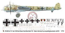 Peddinghaus 1/72 Dornier Do 17 Z-1 Markings 10./ZG 26 Libya Autumn 1941 2225