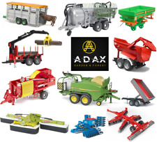 bruder toys barrel trailer balepress mower plugh dumper rotary tedder disc harro