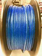 Kingfisher Dyneema stripped 4mm compact braid 78 Dinghy rope