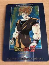 AMADA 1992 Carte Dragon Ball Z DBZ PP Card Part 16 #678 Prisme Version Soft