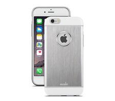 Moshi iGlaze Armour Slim Metallic Aluminum Cover Case for iPhone 6 6s Jet Silver