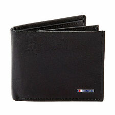 New Leather Mens Tommy Hilfiger Multicard Passcase Wallet