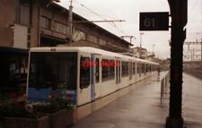 PHOTO  SWITZERLAND RENENS 1993 TRAM TSOL CARS