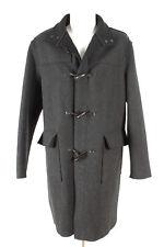 JIL SANDER Mantel Gr. 50 Wolle-Kaschmir Dufflecoat Coat