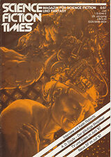 Science Fiction Times Nr. 6 - 1987 Magazin für Sci-Fi und Fantasy, RAR