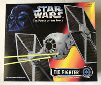 NEW Star Wars POTF Tie Fighter with Ejecting Solar Panel Wings Kenner 1995