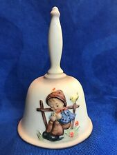 M J Hummel Goebel Handcrafted 1985 5th Edition Annual Bell #704