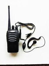 Radio Walkie Talkie Headset Package for Retail Restaurant Church Store School