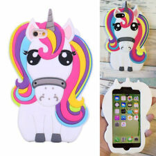 3D Rainbow Unicorn Soft Silicone Phone Case Skin for iPhone Samsung Huawei UK