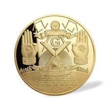 Masonic Lodge Challenge Coin Grand Patrons Scottish York Rite Freemasonry Gift