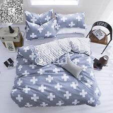 Queen Size Cross Doona Covers Quilt Duvet Cover Set Bedding Sets New Pillowcases