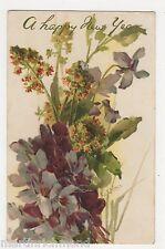 C. Klein, Flowers, Violets & Mignonette Tuck 6123 Chromo Postcard, B562