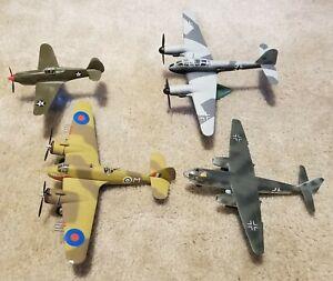 Built lot of 1/72 aircraft.   Lindberg (2), Hobbyboss, Airfix