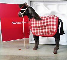 NEW American Girl Doll FELICITY FOAL HORSE PATRIOT Pet Blanket Rope Halter BOX