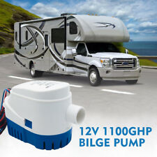 12V 1100GPH Boat Marine Auto Bilge Water Pump Automatic Submersible Float Switch