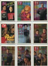 Star Trek Deep Space 9 Quotable Complete TV Guide Chase Card Set TV1-9