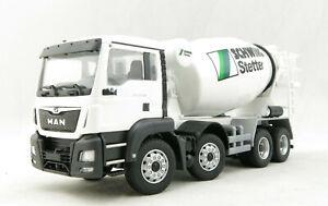 Conrad 77131/01 MAN TGS M 4-axle Truck C-Version Concrete Mixer Stetter 1:50