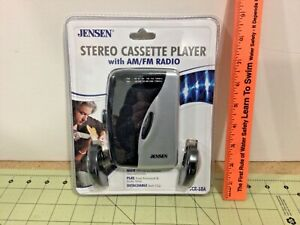 Vintage Jensen Stereo Cassette Player with AM/FM Radio, SCR-68A, sealed!