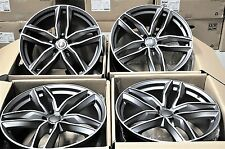 "22"" 2017 S-LINE WHEELS RIMS FIT AUDI A7 S7 RS7 A8 S8 Q5 SQ5 Q7 TIGUAN 1196 GM"