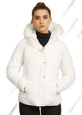 Manteaux et vestes blancs en fourrure pour femme taille 40