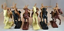 Toy Soldiers of San Diego TSSD Mounted Plains Indians Set 16 Little Big Horn Tan